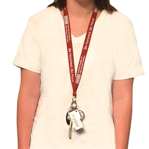 Picture of Lanyard with Keyring